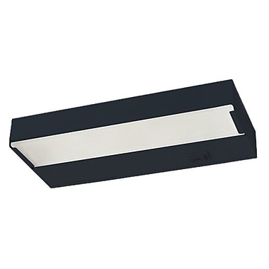 NICOR Lighting 21.5'' Xenon Under Cabinet Bar Light; Black