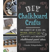 DIY Chalkboard Crafts: From Silhouette Art to Spice Jars, More Than 50 Crafty and Creative Chalkboard-Paint Ideas