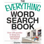 The Everything Word Search Book: Over 250 Puzzles to Keep You Entertained for Hours!