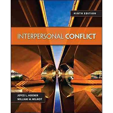 hocker wilmot conflict Interpersonal conflict by william wilmot, joyce hocker and a great selection of similar used, new and collectible books available now at abebookscom.