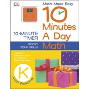10 Minutes a Day: Math, Kindergarten