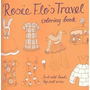 Rosie Flo's Travel Coloring Book