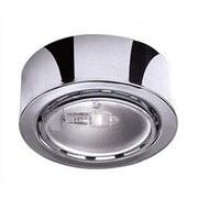 WAC Halogen Under Cabinet Recessed Light; Brushed Nickel