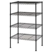 Sandusky Light Duty Wire Shelving; Black