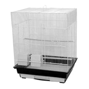A&E Cage Co. Flat Top Cage; Ivory