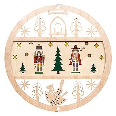 Alexander Taron Nutcracker and Smoker Ornament
