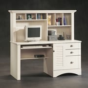 Sauder Harbor View 62.25'' Computer Desk with Hutch