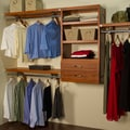 John Louis Inc. Woodcrest 12'' Deep Closet System; Carmel