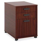 Basyx 3-Drawer Pedestal file; Chestnut