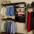 John Louis Inc. Woodcrest 12'' Deep Closet System; Espresso