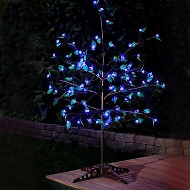 Exhart Anywhere LED w/ Leaves Tree; Blue
