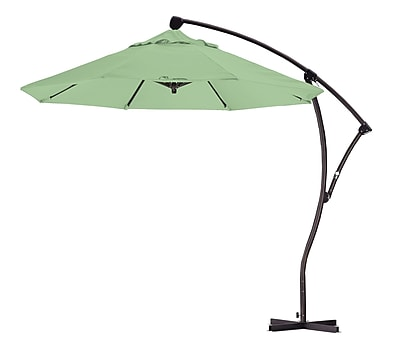 California Umbrella 9' Cantilever Umbrella; Spa WYF078276994082