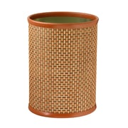 Kraftware Woven 3.25 Gallon Plastic Trash Can; Topaz