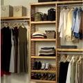 John Louis Inc. Premier 12'' Deep Closet Organizer Set; Honey Maple