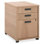 Basyx 3-Drawer Pedestal file; Wheat