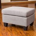Home Loft Concept Jae Ottoman; Ash Grey