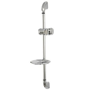 Elements of Design Slide Bar Shower Kit; Chrome