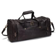 Le Donne Leather Hayden 19'' Duffel; Cafe