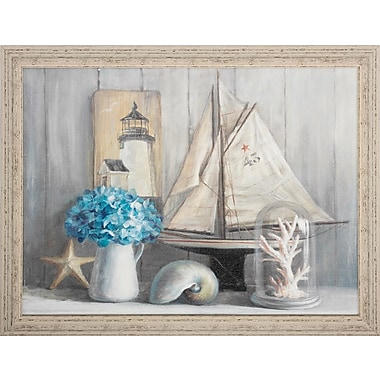 Propac Images Summer House Crop Framed Painting Print