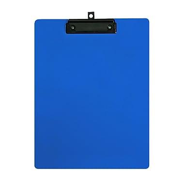 Geo – Planchettes en plastique, format lettre, 9 x 12 po, bleu, 12 par paquet
