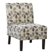 !nspire Oversized Fabric Accent Chair, Beige