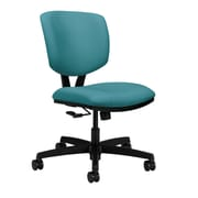 HON Volt Wood Computer and Desk Office Chair, Armless, Glacier (HON5721HCU96T)