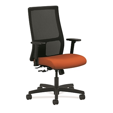 HON Ignition Mid-Back Mesh Task Chair Center-Tilt with Adjustable Arms