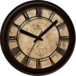 FirsTime 10010 Tobias Classic Wall Clock, Beige Face