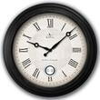 FirsTime 25605 Adair Wall Clock, White Face