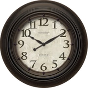 FirsTime 25651 Oxford Station Wall Clock, Ivory Face