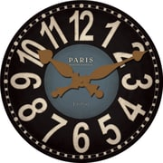 FirsTime 25653 Bastille Wall Clock, Brown Face