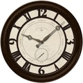 FirsTime 25667 Big Gig Wall Clock, Ivory Face