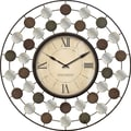 FirsTime 40131 Shasta Wire Wall Clock, Ivory Face