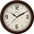 FirsTime 50000 Linen Whisper Wall Clock, Beige Face