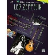 Ultimate Easy Guitar Play-Along -- Led Zeppelin: Easy Guitar TAB (Book & DVD) (Alfreds Ultimate Easy Play-Along)
