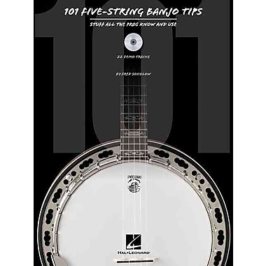 101 Five-String Banjo Tips: Stuff All the Pros Know and Use (Book/CD)