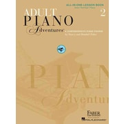 2 adult adventure book cd in lesson one piano