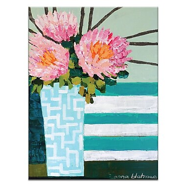 Artist Lane Stripes by Anna Blatman Painting Print on Canvas; 20'' H x 16'' W x 1.5'' D