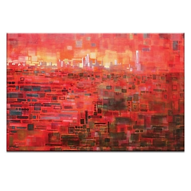 Artist Lane South View by Jennifer Webb Painting Print on Wrapped Canvas; 40'' H x 60'' W x 1.5'' D