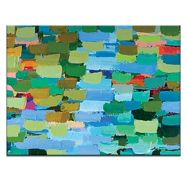 Artist Lane Summer by Anna Blatman Painting Print on Wrapped Canvas; 16'' H x 20'' W x 1.5'' D