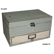 Cheungs Rectangular Box w/ Lid and Drawer