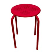 Dar End Table (Set of 2); Red