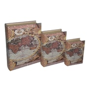 Cheungs Hemisphere Map Book Box (Set of 3)