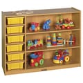ECR4Kids Colorful Essentials  3 Level Multi-Purpose Cabinet; Blue