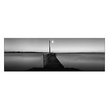 Artist Lane Afterglow by Andrew Brown Framed Photographic Print on Wrapped Canvas in Gray