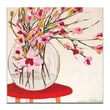 Artist Lane Red Table by Anna Blatman Painting Print on Wrapped Canvas; 30'' H x 30'' W x 1.5'' D
