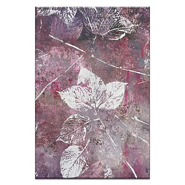 Artist Lane Autumn Time by Sally Adams Painting Print on Wrapped Canvas; 60'' H x 40'' W x 1.5'' D