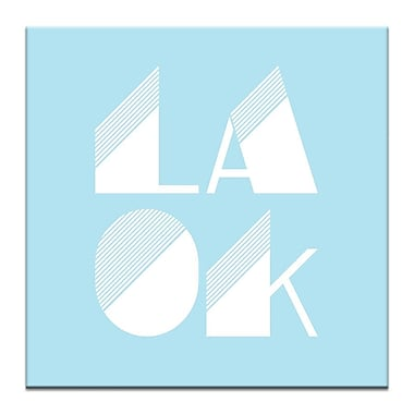 Artist Lane LA OK by Ayarti Framed Textual Art on Wrapped Canvas