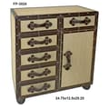 Cheungs Wooden 6 Drawer Cabinet