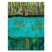 Artist Lane Forest by Anna Blatman Painting Print on Wrapped Canvas; 40'' H x 30'' W x 1.5'' D